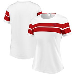 Women's WEAR By Erin Andrews White New England Patriots T-Shirt