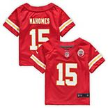 Infant Nike Patrick Mahomes Red Kansas City Chiefs Game Jersey