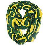Women's ZooZatz Green Oregon Ducks Logo Infinity Scarf