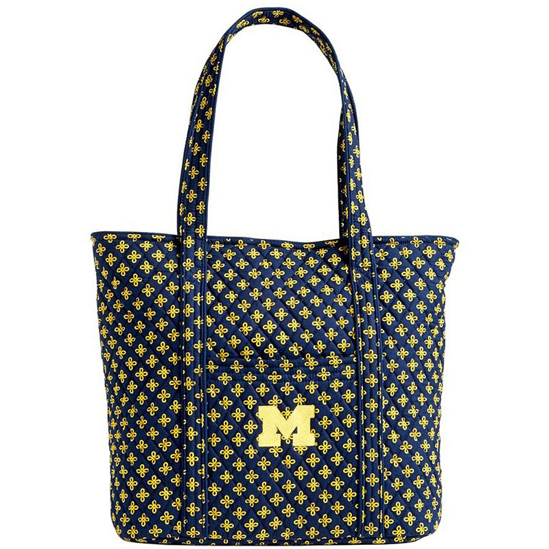 Women's Vera Bradley Michigan Wolverines Vera Tote Bag, MIC Team