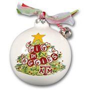 Texas A&M Aggies Tree Painted Ball Ornament
