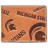 Men's  Michigan State Spartans Sideline Traveler Billfold Wallet