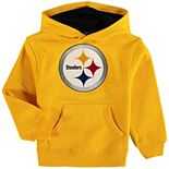 Preschool Gold Pittsburgh Steelers Fan Gear Prime Pullover Hoodie