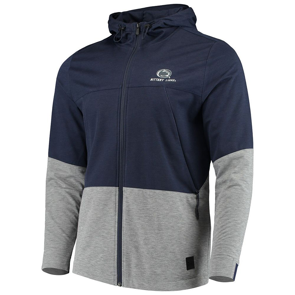 Men's Under Armour Navy Penn State Nittany Lions Full-Zip Performance Swacket Jacket