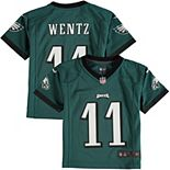 Preschool Nike Carson Wentz Midnight Green Philadelphia Eagles Game Jersey