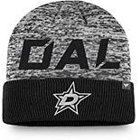 Men's Fanatics Branded Black Dallas Stars Authentic Pro Team Clutch Cuffed Knit Hat