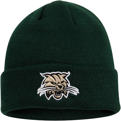 Mens Ohio Bobcats Top of the World Green Simple Knit Hat with Cuff