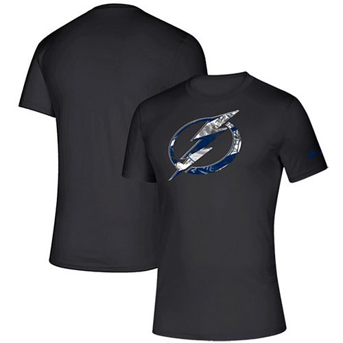 Men's adidas Black Tampa Bay Lightning Creator climalite T-Shirt