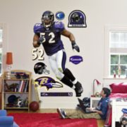 Fathead Baltimore Ravens Ray Lewis Wall Decal