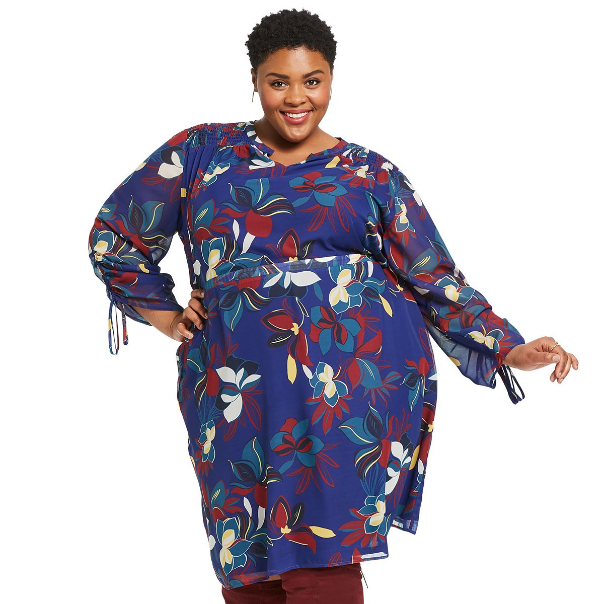Plus Size East Adeline by Dia&Co Movie Night Outfit IFTRR