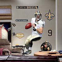Fathead® New Orleans Saints Drew Brees Wall Decal