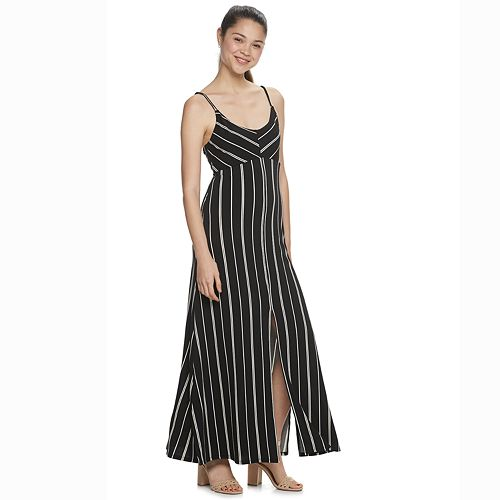 Juniors' Candie's® Front Slit Maxi Dress