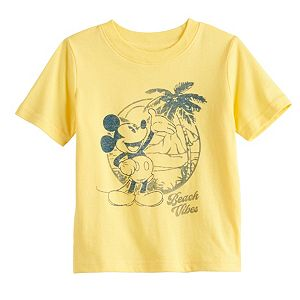 "Disney's Mickey Mouse Baby ""Beach Vibes"" Graphic Tee by Family Fun"