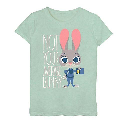 Disney's Zootopia Judy Hopps Girls 7-16 Average Bunny Tee