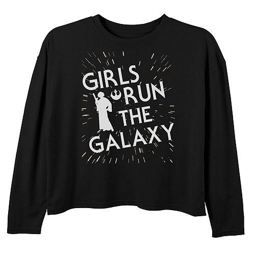 Girls Star Wars Girls Run The Galaxy Tee