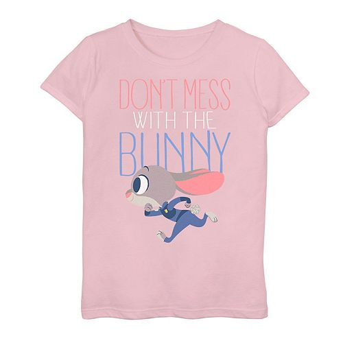 Disney's Zootopia Judy Hopps Girls 7-16 Don't Mess With Her Tee