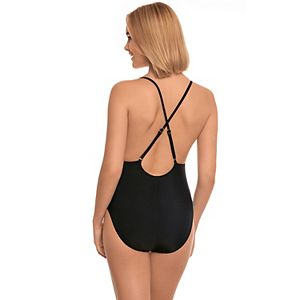 Printed Adjustable One-Piece Swimsuit