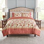 Croft & Barrow® Lois Red Jacobean Comforter and Sham Set