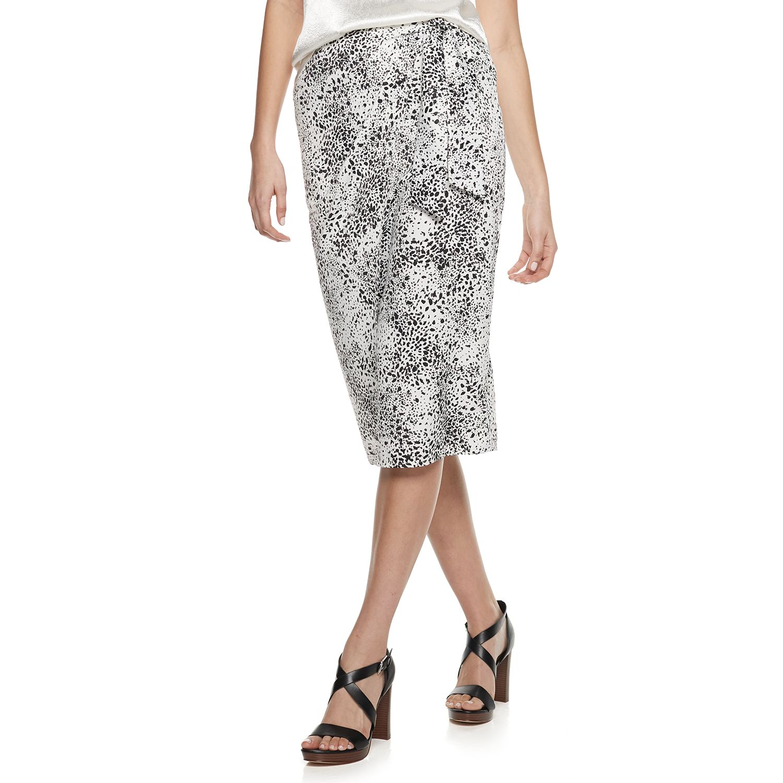 Women's Nine West Wrap Pencil Skirt