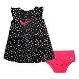 Baby Girl Nike Dri-FIT Flutter Sleeve Dress