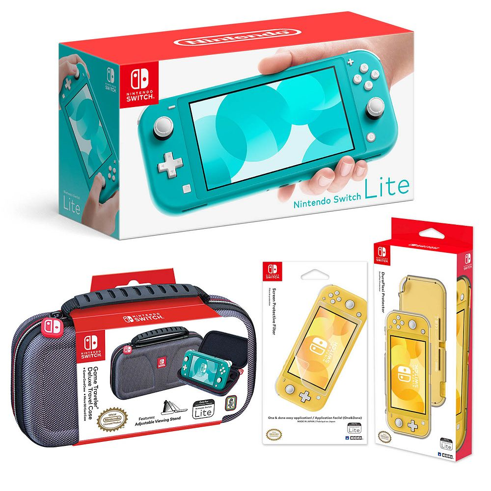 Nintendo Switch Lite Bundle With Case Screen Protector Switch Lite Armor