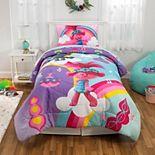 DreamWorks Trolls 2 Poppy Rainbow Comforter