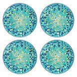 Celebrate Summer Together 4-pc. Cool Mosaic Dinner Plate Set