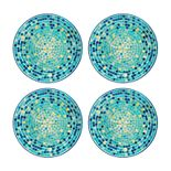 Celebrate Summer Together 4-pc. Cool Mosaic Salad Plate Set