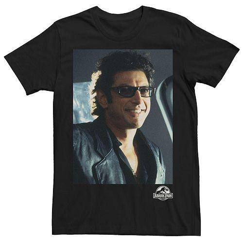 Men's Jurassic Park Goldblum Sly Smile Tee