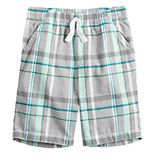 Boys 4-12 Jumping Beans® Plaid Shorts