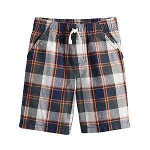 Boys 4-12 Jumping Beans® Plaid Shorts