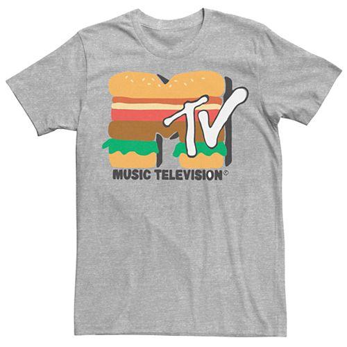 Men's MTV Hamburger Logo Tee