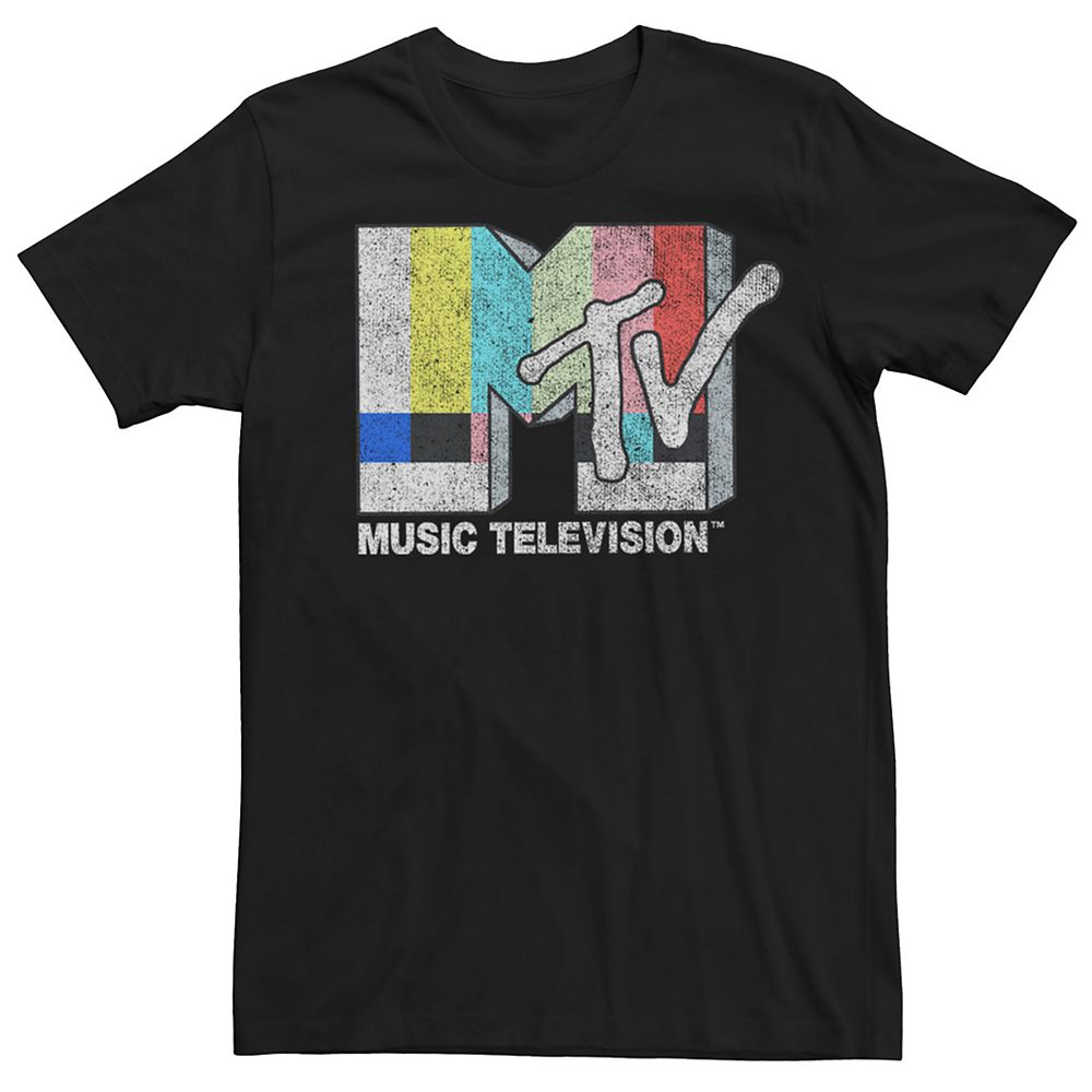 Men's MTV Vintage TV Signal Tee