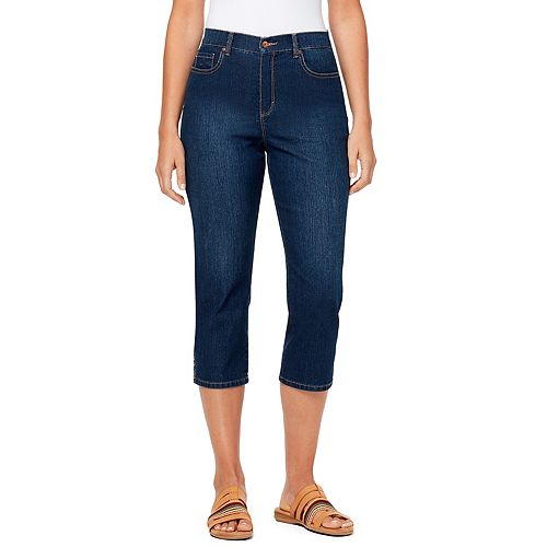 Petite Gloria Vanderbilt Amanda Capri Jeans