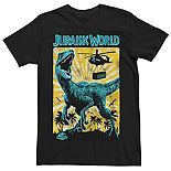 Men's Jurassic World T-Rex Retro Poster Tee