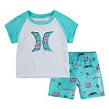 Baby Boy Hurley Dri-FIT Tee & Shorts Set