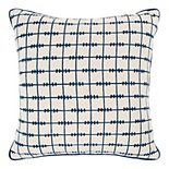 Donny Osmond Babs Indigo Geometric Pillow