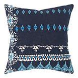 Donny Osmond Beth Multi Blue Pillow