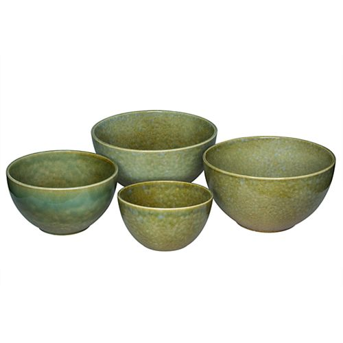 Hobnail 4 Piece Mixing Bowl Set Tabletops Gallery® 4-pc