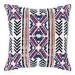 Donny Osmond Bayla Pink & Indigo Geo Pillow