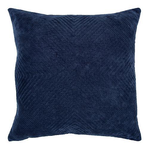 Donny Osmond Blair Indigo Solid Pillow