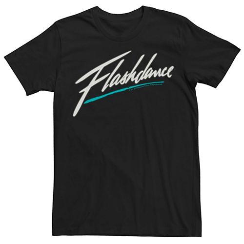 Men's Flashdance Logo Tee