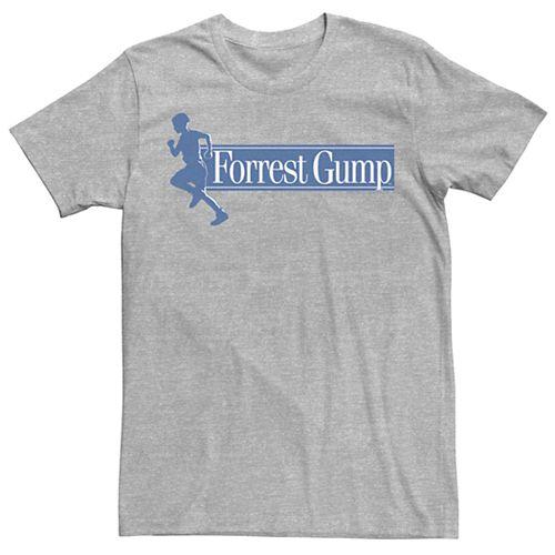 Men's Forrest Gump Running Silhouette Title Tee