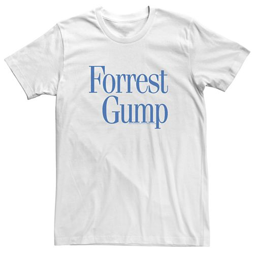 Men's Forrest Gump Simple Title Tee