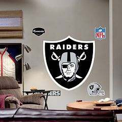 Fathead® Oakland Raiders Logo Wall Decal