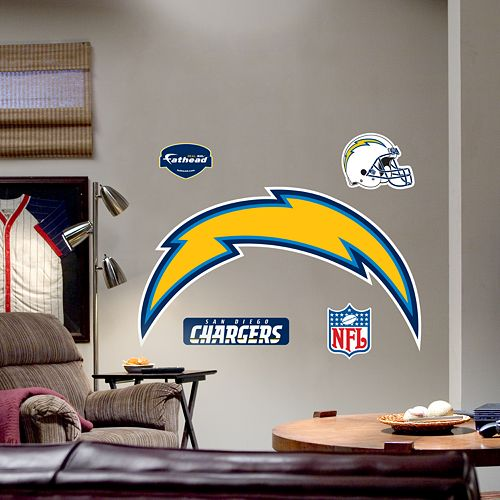 San Diego Chargers Decals: Fathead® San Diego Chargers Logo Wall Decal
