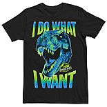 Men's Jurassic Park T-Rex I Do What I Want Tee