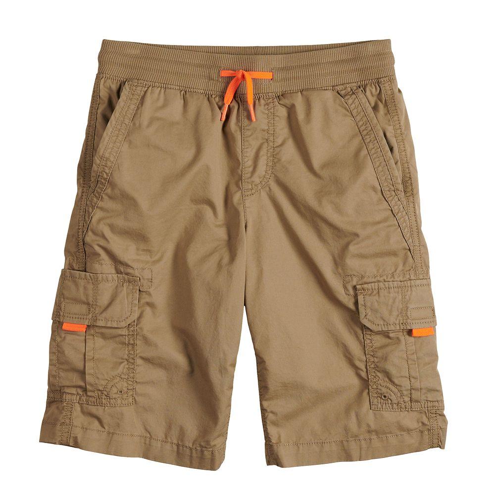 Boys 8-20 Urban Pipeline™ Knit Waist Band Cargo Shorts