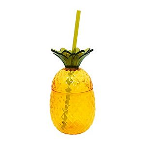 Celebrate Summer Together Pineapple Straw Cup