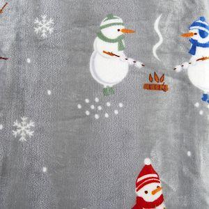 Great Bay Home Child's Christmas Collection Velvet Plush Throw Blanket